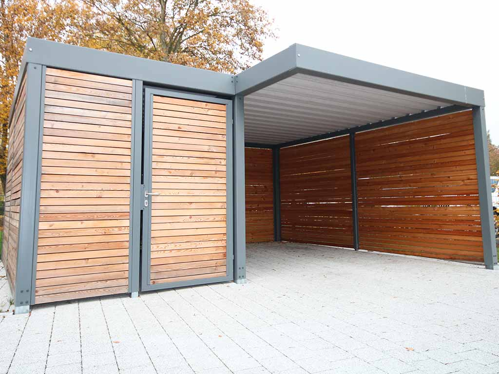 carport aus stahl carports aus stahl und aluminium. Black Bedroom Furniture Sets. Home Design Ideas